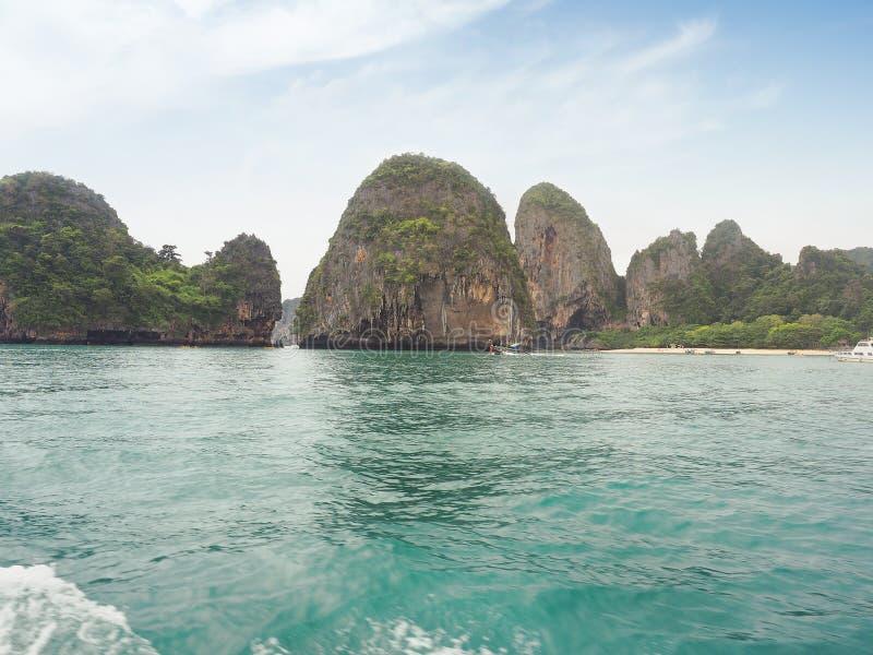 Остров Hong, национальный парк Phang Nga, Krabi стоковое фото rf