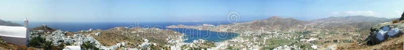 Остров Ios - Эгейское море - Греция стоковое фото
