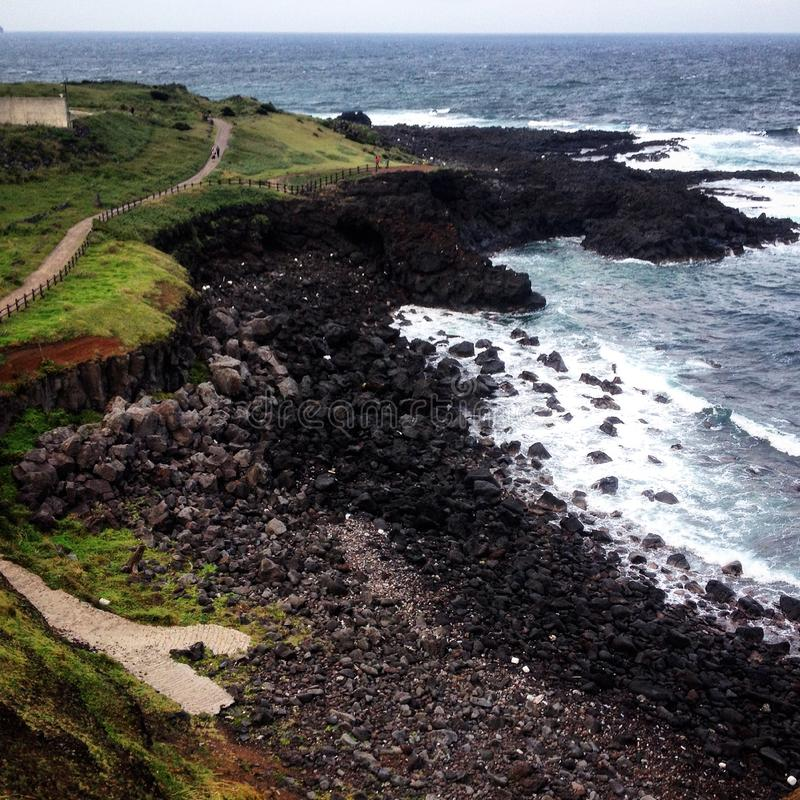 Остров Jeju стоковое фото rf