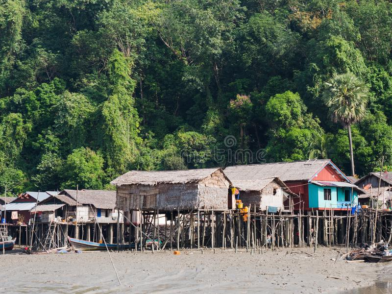 Остров Kala на архипелаге Mergui стоковая фотография