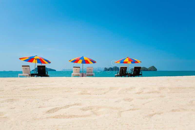 Остров Langkawi пляжа Tanjung Rhu стоковая фотография
