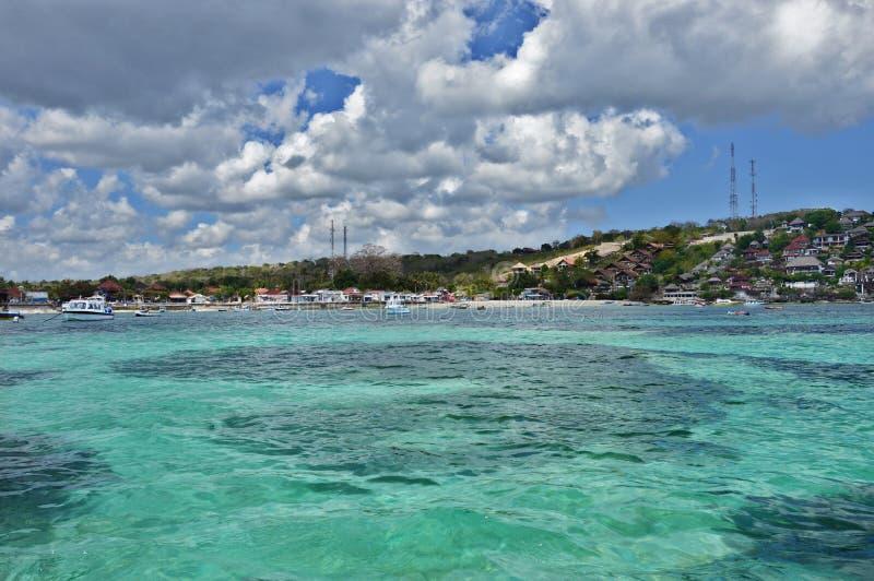 Остров Lembongan стоковое изображение rf
