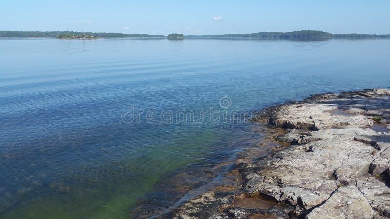 Остров, Lilla Rätö Швеция стоковое фото rf