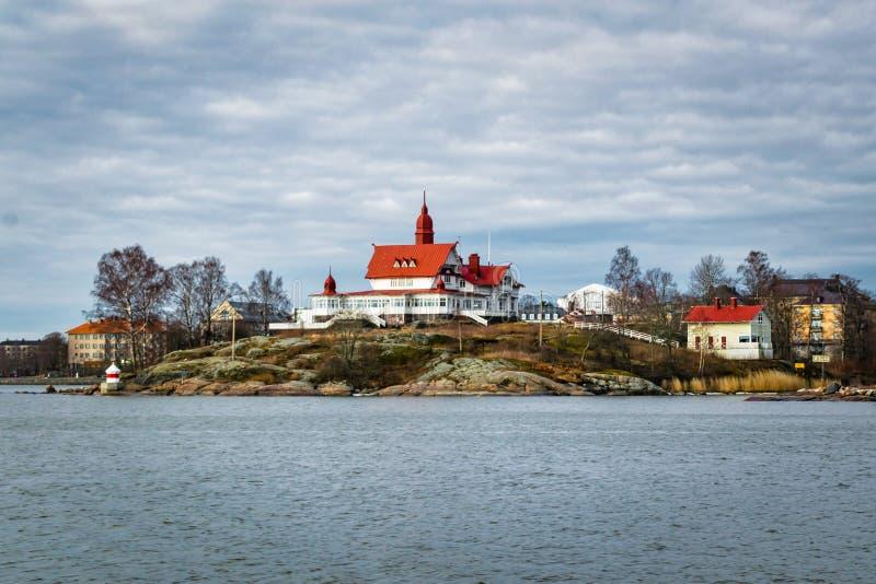 Остров Luoto в Финляндии стоковое фото rf