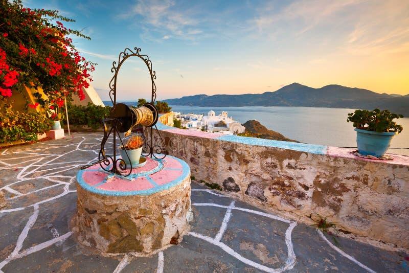 Остров Milos стоковая фотография