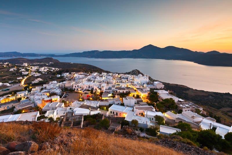 Остров Milos стоковое фото