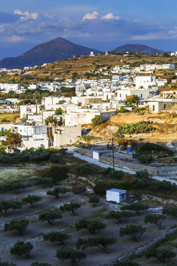 Остров Milos стоковое изображение