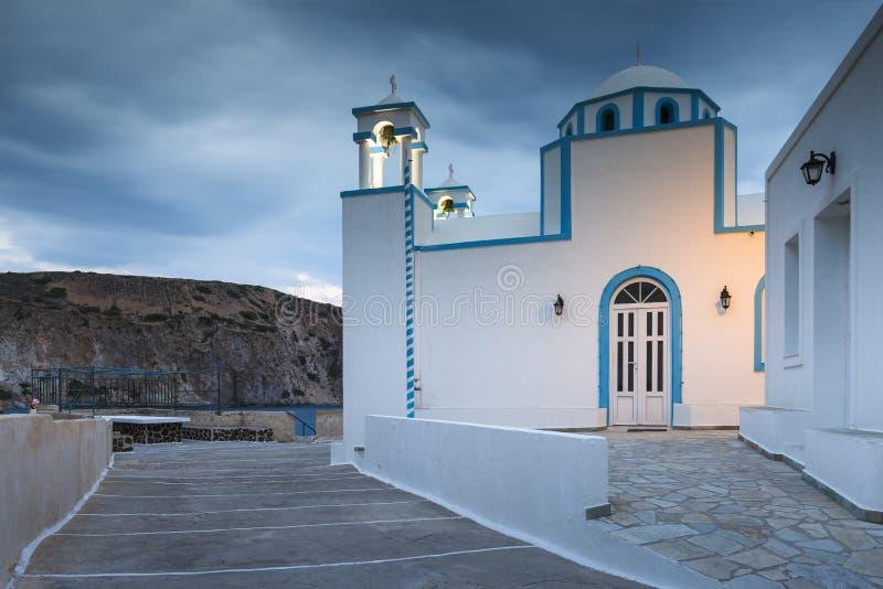 Остров Milos стоковые фотографии rf