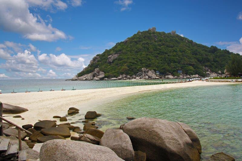 Остров Nang-юаней стоковая фотография rf