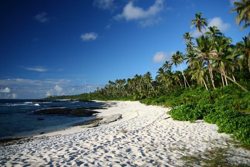 остров pacific пляжа алебастра южный стоковая фотография rf