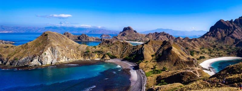Остров Padar, Индонезия стоковое фото rf