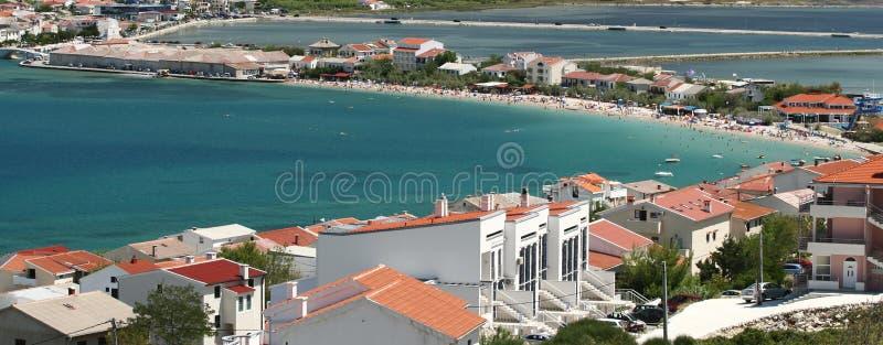 остров pag Хорватии стоковые фото