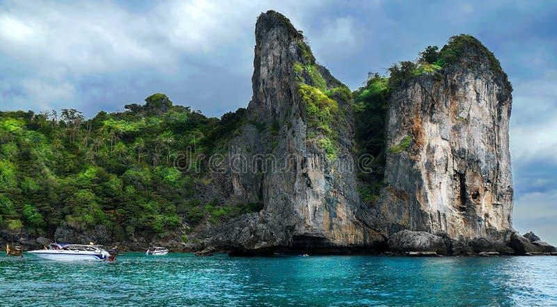 Остров Phi Phi Koh стоковая фотография rf