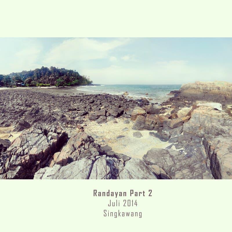 Остров Randayan стоковые изображения