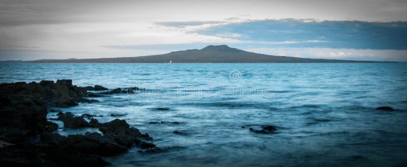 Остров Rangitoto стоковые изображения