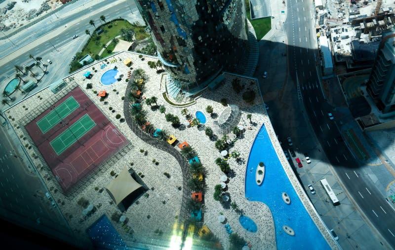 Остров Reem Al, Абу-Даби стоковые фотографии rf