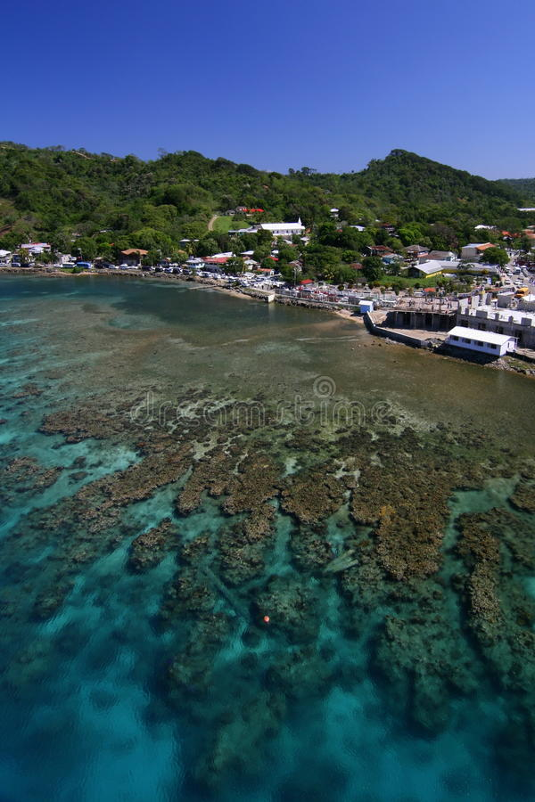 Остров Roatan, Гондурас стоковые изображения rf