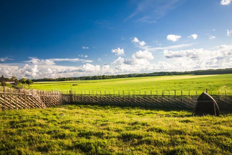 Остров Saaremaa, естонија стоковое изображение