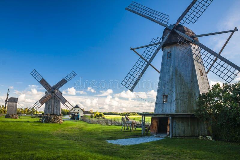 Остров Saaremaa, естонија стоковая фотография rf