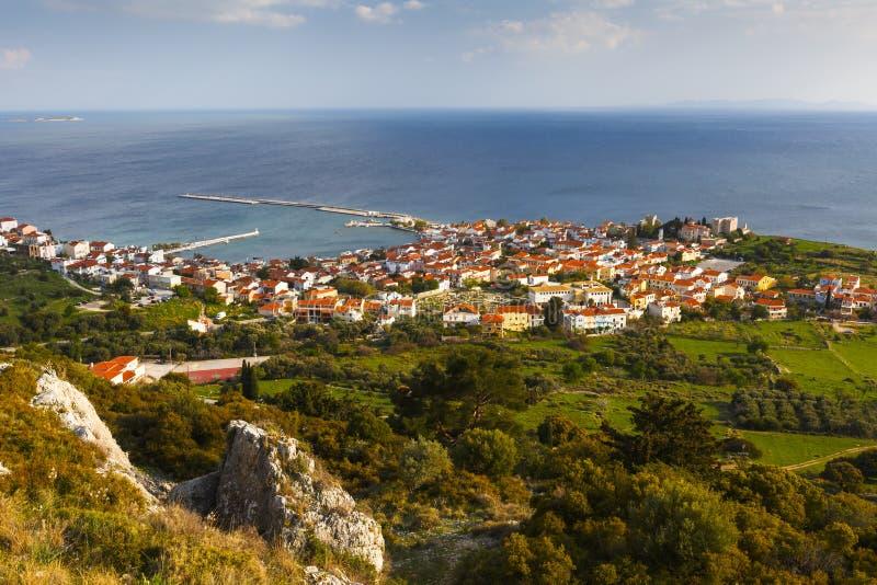 Остров Samos стоковое фото rf