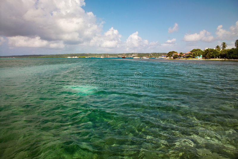 остров san Колумбии andres стоковое фото rf