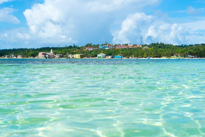 Остров San Andres на Вест-Инди в Колумбии стоковая фотография