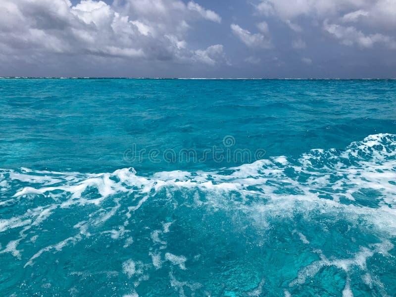 Остров San Andres, свое море 7 цветов стоковая фотография
