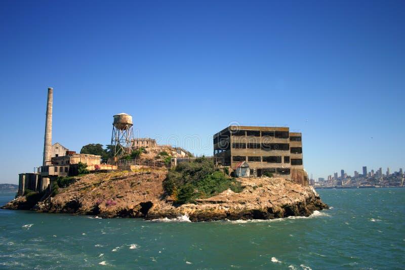 остров san francisco alcatraz стоковые изображения