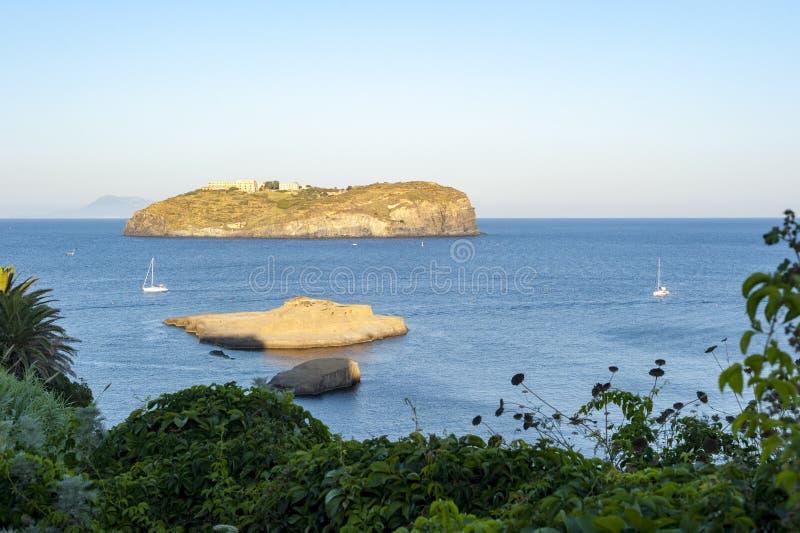 Остров Santo stefano стоковые фотографии rf