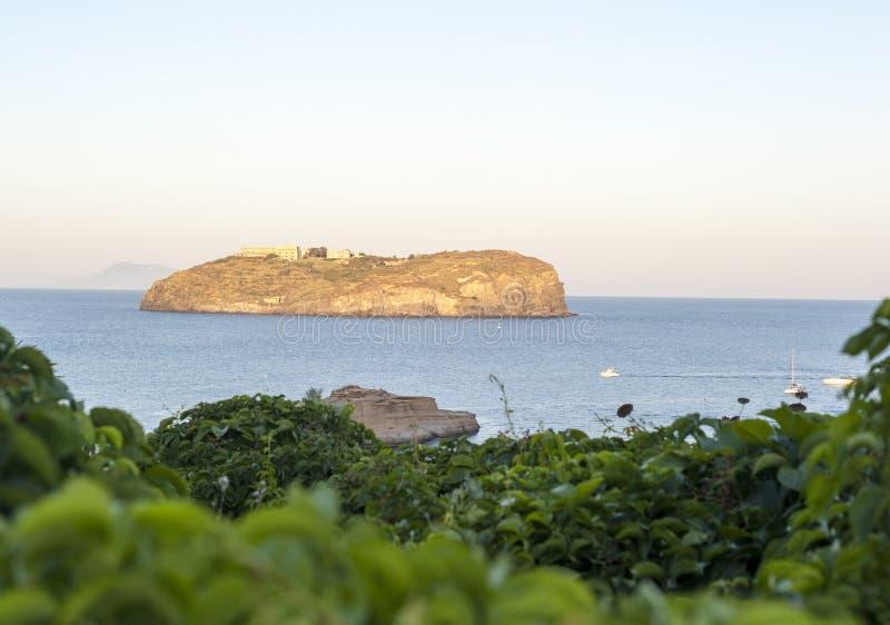 Остров Santo stefano стоковое изображение