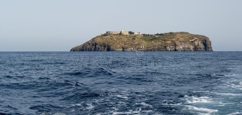 Остров Santo stefano стоковое фото rf