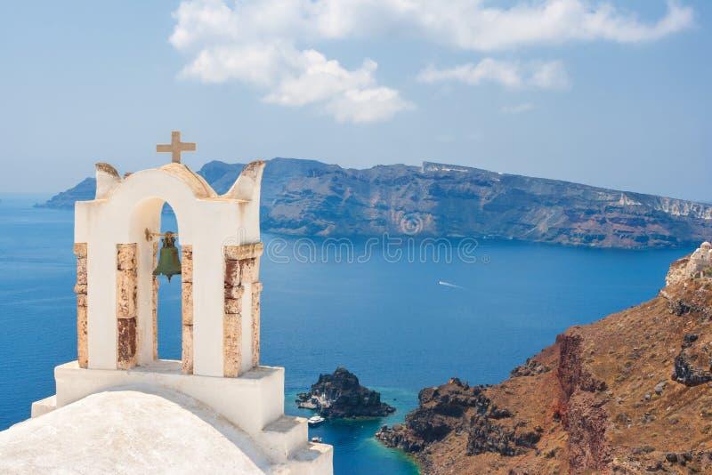 Остров Santorini, Греция стоковые изображения rf
