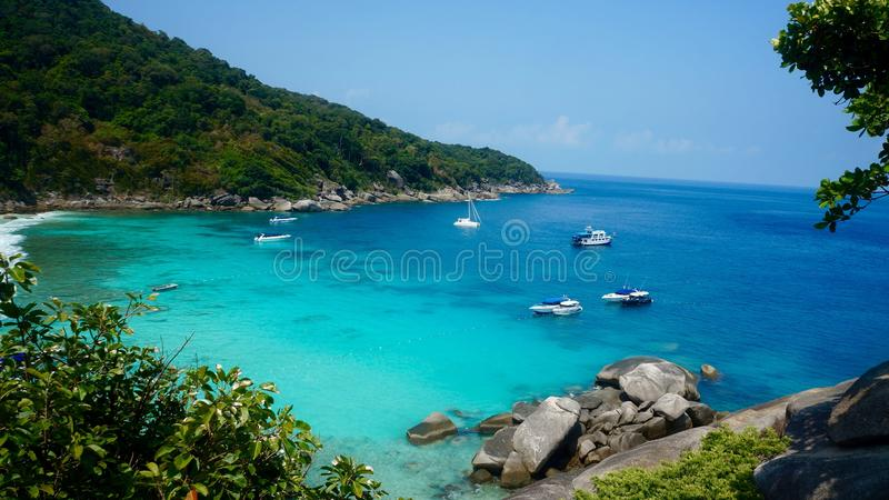 остров similan стоковые фотографии rf