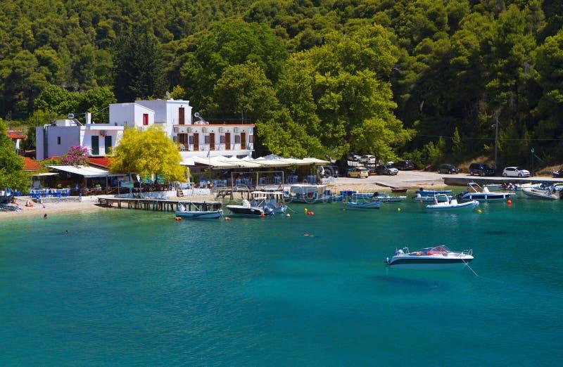 Остров Skopelos в Греции стоковые изображения rf