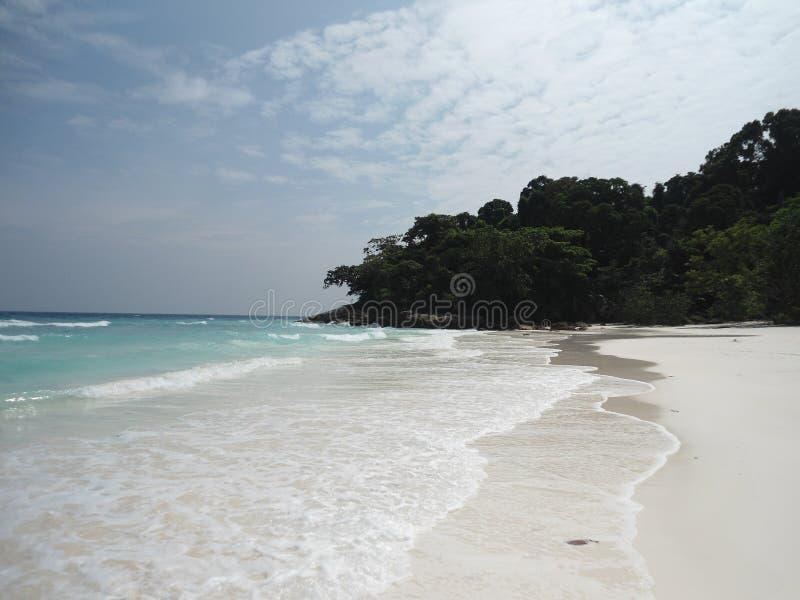 Остров Smilan, около Таиланда стоковые изображения