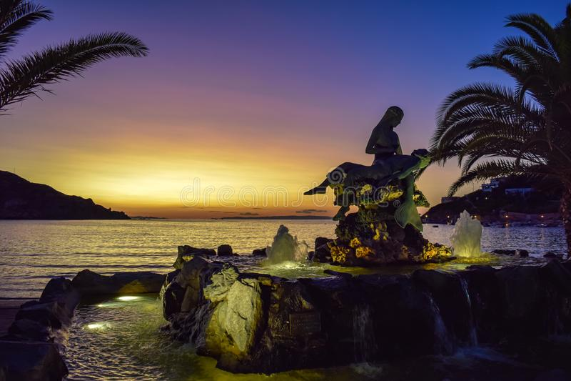 Остров Syros стоковое изображение rf