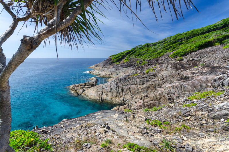 Остров Tachai стоковые изображения