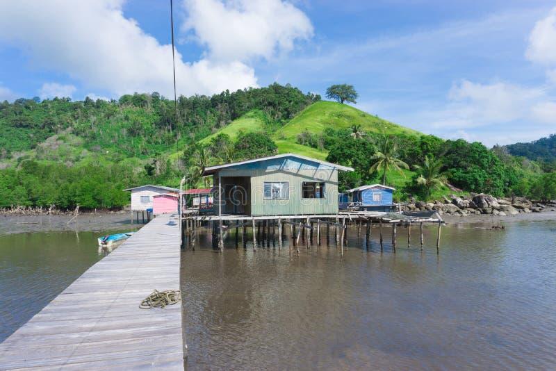 Остров Timbun Mata стоковые фотографии rf