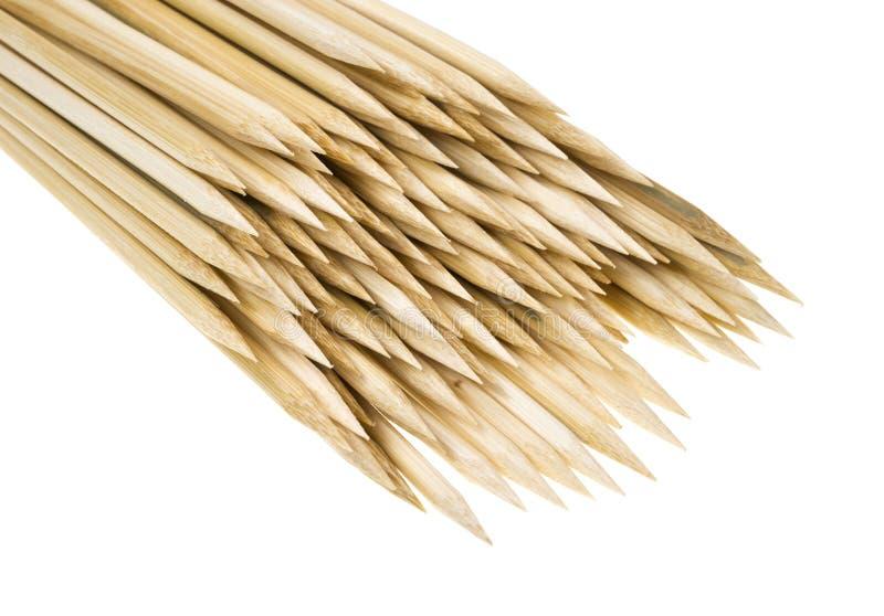 Остроконечные концы ручек протыкальника стоковое изображение rf