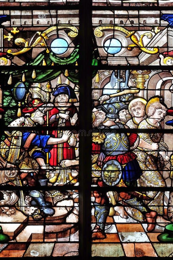 Осуждение Сен-Жерве и Сен-Протайса стоковые изображения rf