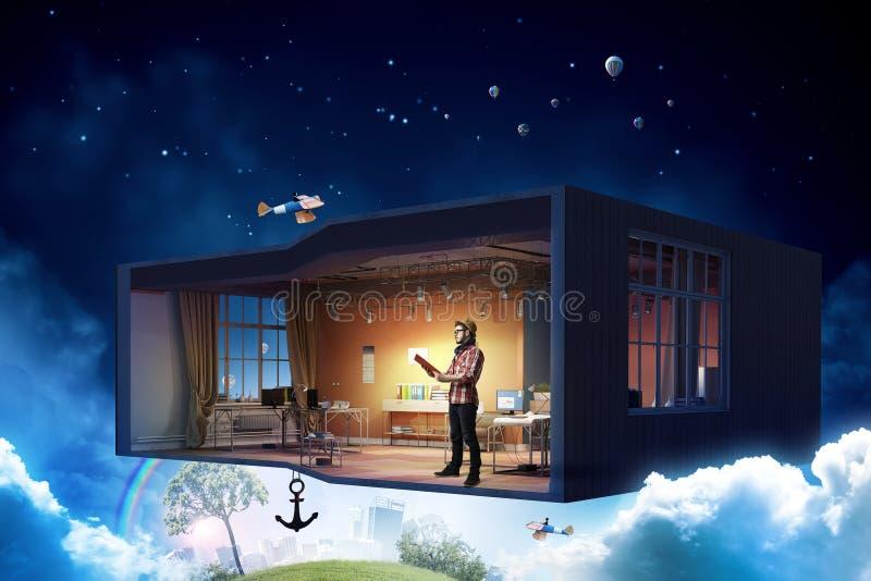 Download Осуществите ваши мечты дизайна Мультимедиа Стоковое Фото - изображение насчитывающей воодушевленность, конструктор: 81808810