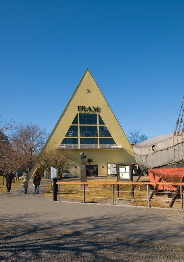 Осло Норвегия Музей Fram стоковые фотографии rf