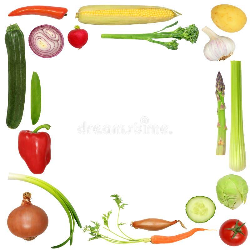 отборный здоровый овощ иллюстрация вектора