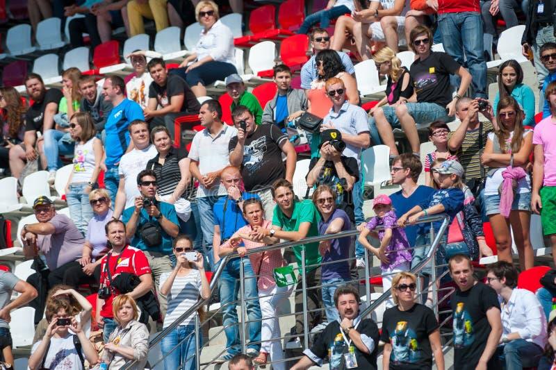 Отборочные матчи чемпионата мира Renault Редакционное Стоковое Фото