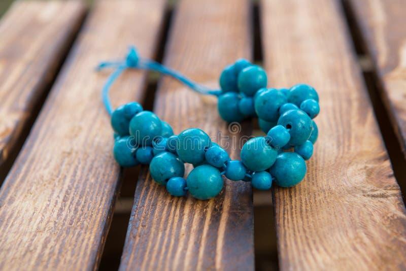 отбортовывает голубое handmade Деревянная предпосылка Handmade древесина стоковая фотография