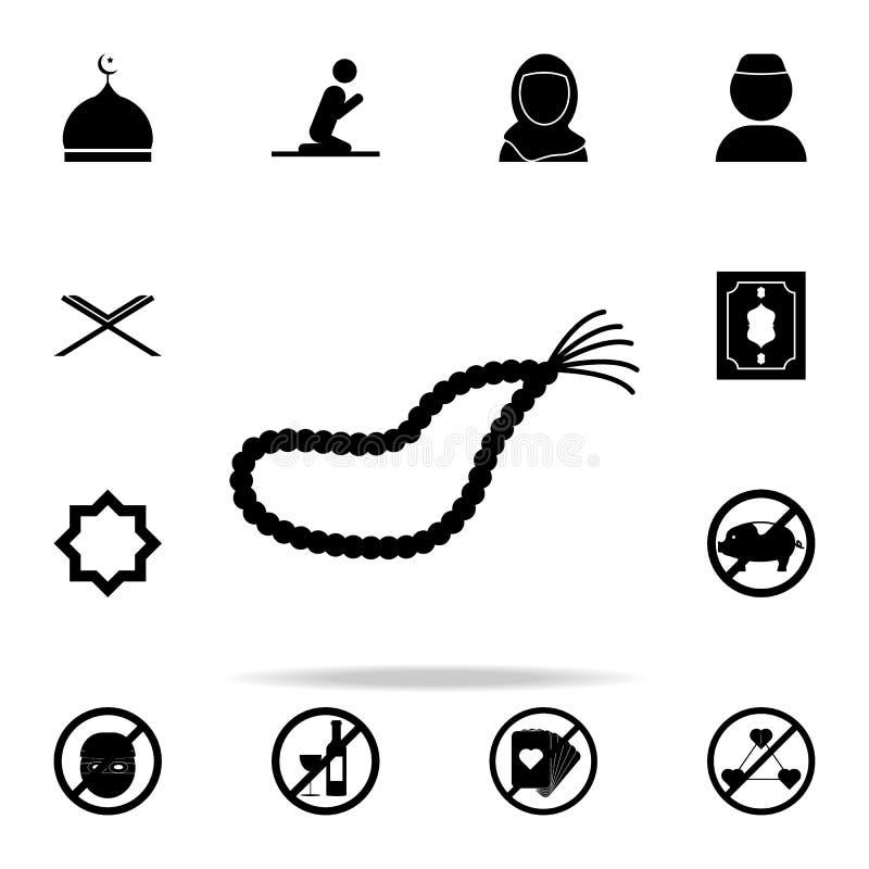 Отбортовывает значок Комплект значков вероисповедания всеобщий для сети и черни иллюстрация вектора