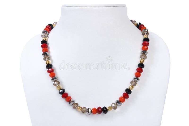отбортовывает индийское ожерелье стоковая фотография rf