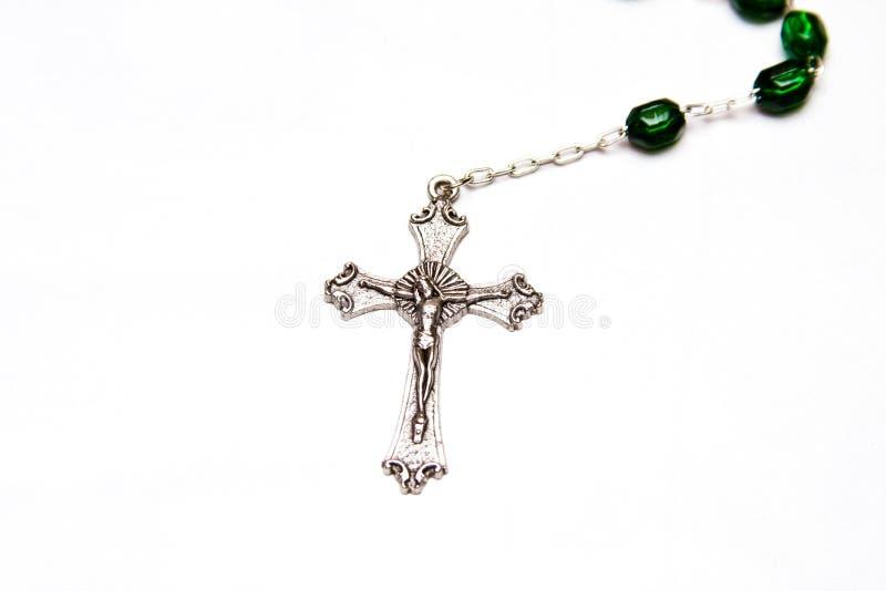 отбортовывает католический rosary стоковое изображение rf