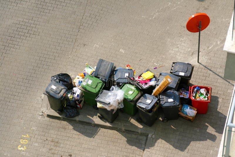 отброс ящиков стоковое фото rf