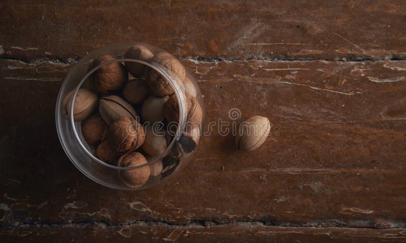 Отверженец грецкого ореха стоковое фото rf